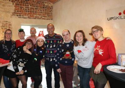 Collaborateurs déguisés pour Noël